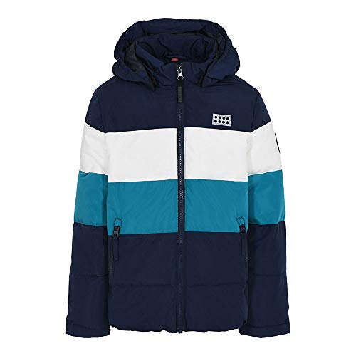 Lego Wear Kinder-Unisex LWJIPE Jacke, 590 Dark Navy, 140