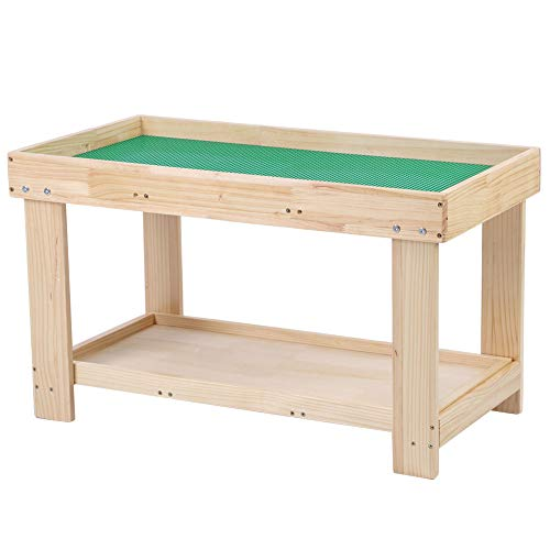 Kinderspieltisch, Multifunktionale Aktivitätstabelle für Kinder Spieltisch mit Schubladen und Platte Kinder Lernspielzeug