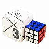 CuberSpeed YJ MGC 3x3 M Black Speed Cube YJ MGC Magnetic 3x3x3 Magic Cube Puzzle