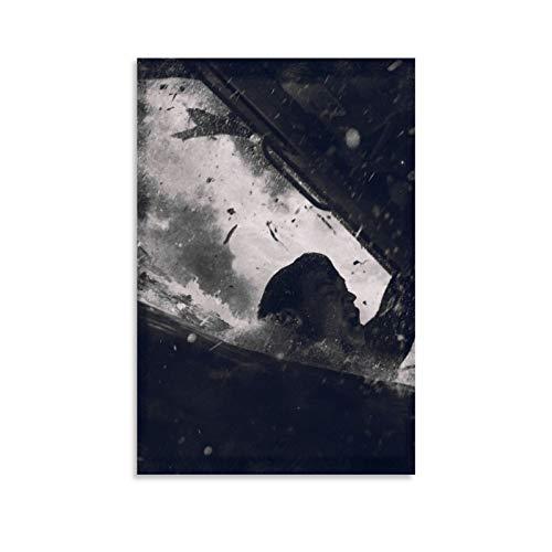 HZHI Dunkirk Poster / Wandbild auf Leinwand, dekorativ, 50 x 75 cm