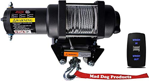 Read About Mad Dog 2500lb Winch Mount Combo Arctic Cat 2009-2014 1000 Prowler