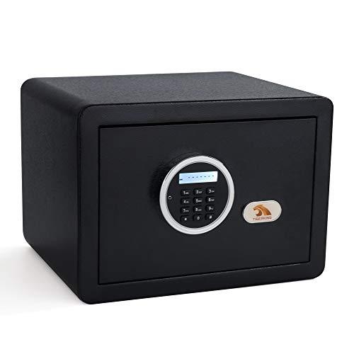 TIGERKING Digital Security Safe Box for Home Fashion Black 1-Cubic-Feet