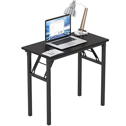 Need Mesa Plegable 80x40cm Mesa de Ordenador Escritorio de Oficina Mesa de Estudio Puesto de Trabajo Mesas de Recepción...