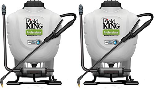 D.B. Smith Field King Professional 190328 No Leak Pump Backpack Sprayer for Killing Weeds in Lawns and Gardens (Twо Расk)