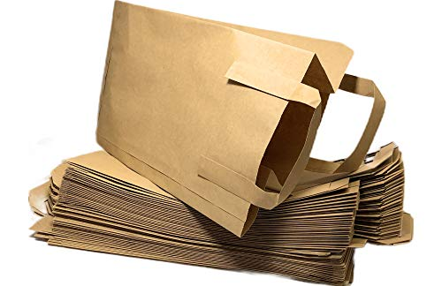 BioGlück - Biomüllbeutel 10l mit Henkel | Bioabfalltüten [50 Stück] | Müllbeutel | Kompostbeutel aus hochwertigem Papier für die Biotonne