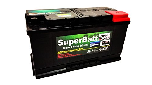 12V 110AH SuperBatt LM110 Deep Cycle Leisure Battery Caravan Motorhome Marine Boat