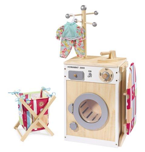Howa Waschmaschine / Wäschecenter aus Holz 48141