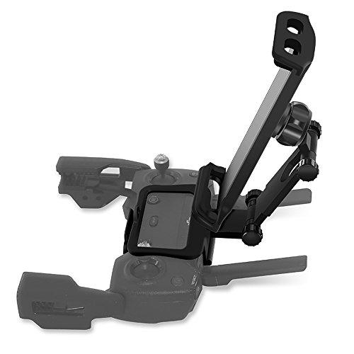Preisvergleich Produktbild Rantow 4 bis 12 Zoll Faltbar Telefon- / Tablethalterung Lanyard für DJI Mavic Pro & Spark Drohne Fernbedienung Smartphone Tablette Halter für verlängerte Frontmontage