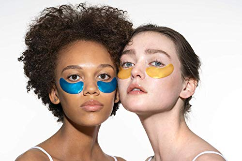 ACURE Radically Rejuvenating Under Eye Hydrogel Mask   100% Vegan   Provides Anti-Aging Support   Cucumber & Silk Tree - Hydrates & Rejuvenates   12 Count