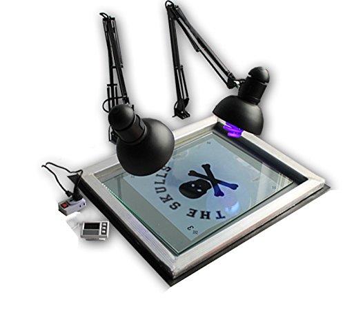 4 Color 1 Station Screen Printing Kit DIY Hobby Materials Kit Micro registration Screen Printing Equipment