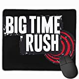 Alfombrilla de ratón Big Time Rush Alfombrilla de ratón para Juegos con gráficos Personalizados para portátiles y Ordenadores (9,9 x 11,8 Pulgadas, 25 x 30 cm)