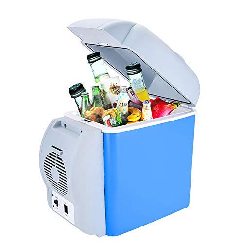 Nevera Portatle Electrica Frio Caliente 12V 7.5 Litros Automóvil Refrigerador para Camping,Viajes,Picnic