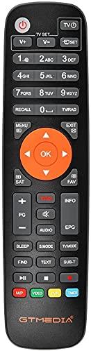 Etlephe Mando a distancia GTMEDIA V7S2X, V7PRO, V7 TT, V8X, V8 Turbo, V8 UHD, V9 Prime Satellite TV Receptor
