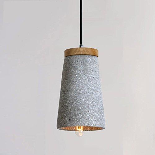 WYL Lámpara de Viento Industrial Retro Retro Lámpara de Cemento Moderno Minimalista Creativo Personalidad Loft Art Single Head Restaurante Iluminación E27 (Color : C)