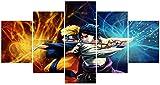 Naruto Poster Naruto und Sasuke Doomed Battle Anime