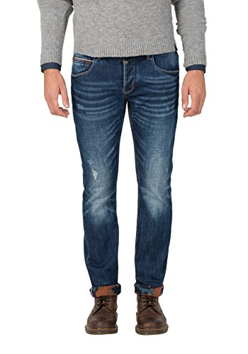 Timezone Herren ScottTZ Slim Jeans, Blau (Blue Ink Wash 3192), W29/L32
