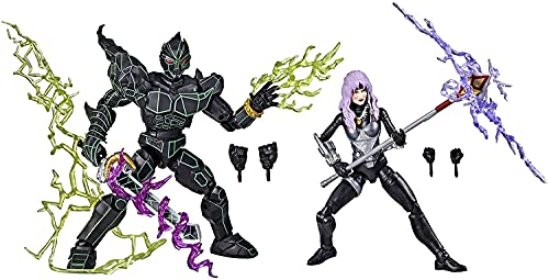 Power Rangers Lightning Collection in Space Ecliptor and Astronema 2-Pack 6-Inch Premium Collectible Action Figure Toys with Accessories (Amazon Exclusive)