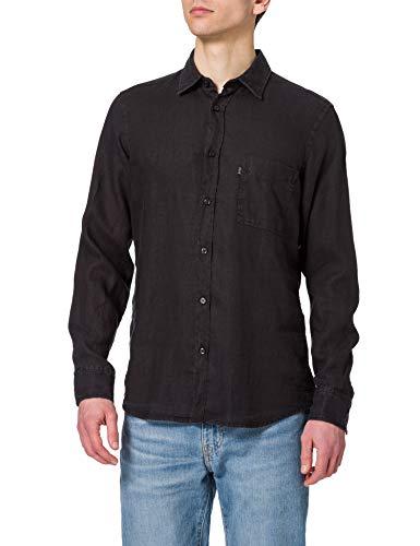 BOSS Relegant_2 10169252 03 Camisa, Negro1, M para Hombre