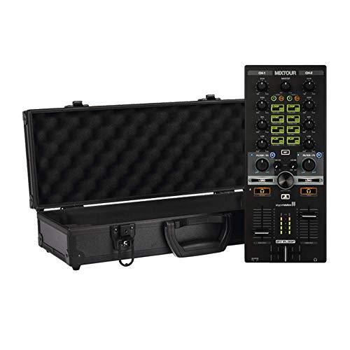 Reloop Mixtour 2-Kanal All-in-One DJ MIDI Controller inkl. Flightcase Bundle