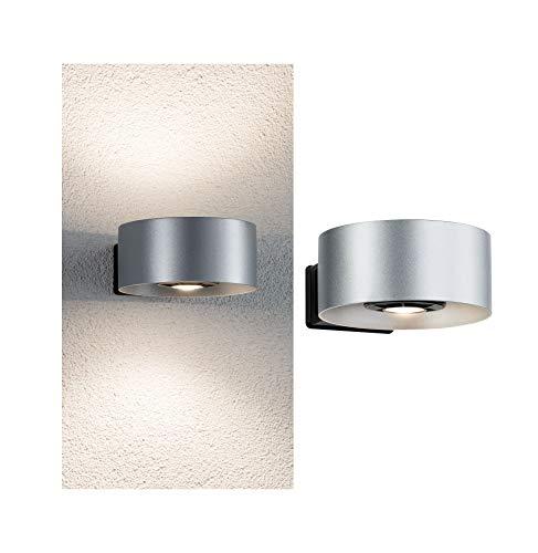 Paulmann 796.75 Outdoor House Cone IP44 Warmweiß 2x6W Lichtaustritt Beidseitig 30-90°Ausstrahlwinkel 79675 Hausnummernleuchte Aussenleuchte Haustürleuchte