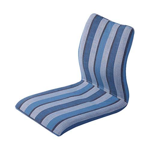 Chaise Canapé Moderne Paresseux, Élégante Chaise Rayée Lavable (Color : A)