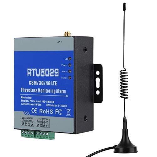 GSM-Alarm Stromausfall Alarm, GSM-Strom Spannungs-Fernüberwachung Alarm mit SMS-Alarm und drahtloser Fernbedienung für Stationen, Frischwarenlager, Schweinefarmen(EU)