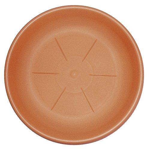Bama Dessous de Pot en résine Couleur cuivre Ø 40 cm