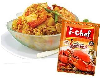 I - Chef Thai Yellow Curry Stir-Fry Sauce 50g. Thai Food.(Pack 3)