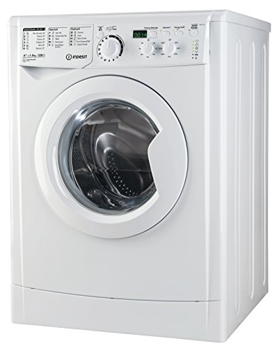 Indesit EWD 81252 W IT.M Freestanding Front-load 8kg 1200RPM A++ White washing machine - Washing Machines (Freestanding, Front-load, White, Buttons, Rotary, Left, Green)