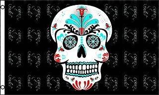 Sugar Skull 3x5 ft Polyester Flag