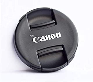 SHOPEE 58mm Front Lens Cap for Canon 5d/650d/ 1100d/ 600d/700d/1200d/1300d/1000d/1100d with 18-55mm & 55-250mm Lens (Pack of 1)
