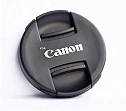 SHOPEE 58mm Front Lens Cap Compatible with Canon 5d/650d/ 1100d/ 600d/700d/1200d/1300d/1000d/1100d with 18-55mm & 55-250mm...