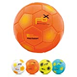 <span class='highlight'><span class='highlight'>meteor</span></span> Football Training Ball Every Size 5 4 3 1 Official Match Adults Junior Kids Soccer Futsal Professional Club Team Indoor Outdoor Play Toy Many Colors (FBX #4, orange)