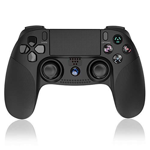 ELYCO Mando Wireless Inalámbrico Bluetooth Controlador Gamepad Remoto Joystick, Manija del Juego Joypad con Vibración Doble