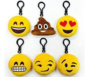 Llavero Emoticono - Ideal Para Detalles de Bodas, Comuniones (Precio Unitario) - Llaveros Emoticonos Emojis Baratos, para niños infantiles juveniles