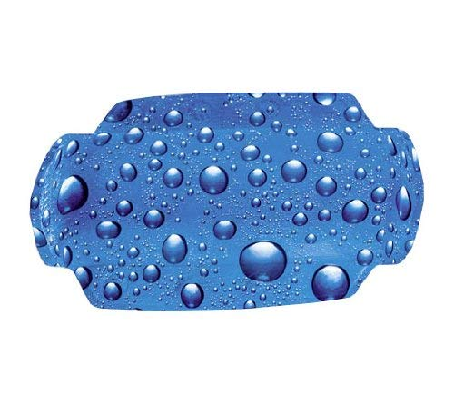 Kleine Wolke Cubic Rug, Kunststoff, Blau, Nackenpolster 32x22 cm