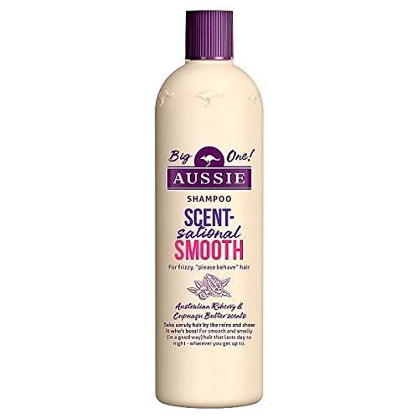取り囲む姿勢炎上[Aussie ] オージーScentsationallyスムーズなシャンプー500ミリリットル - Aussie Scentsationally Smooth Shampoo 500ml [並行輸入品]