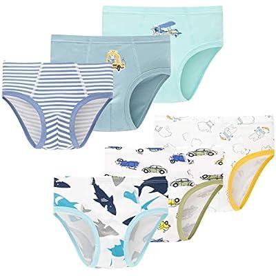 Amazon Promo Code for Soft Cotton Underwear Little Boys Dinosaur Briefs Toddler 15092021074609