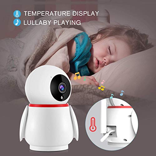 41lkHlN7BLL 12 Best Baby Monitors Under $150–$200 Review [Updated 2021]