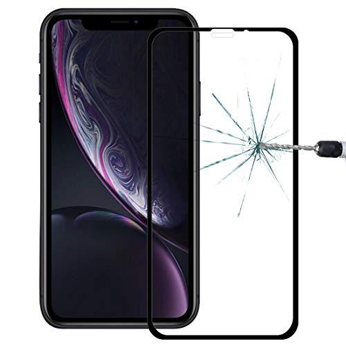 Goede 9H 10D Volledig Scherm Gehard Glas Screen Protector voor iPhone XR Moonbaby