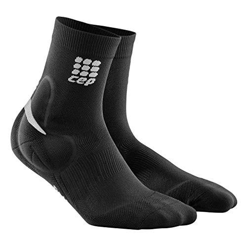 CEP Women's Ortho+ Ankle Support Short Socks (Black) II