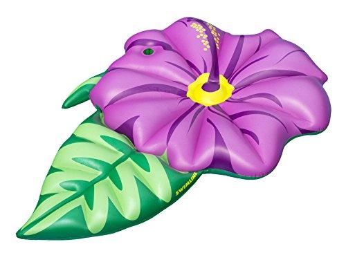Swimline Inflatable Hibiscus Flower Pool Float