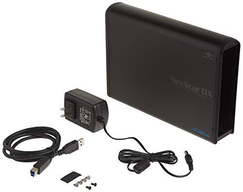 Vantec NST-536S3-BK NexStar DX USB 3.0 External Enclosure for SATA Blu-Ray/CD/DVD Drive All Black