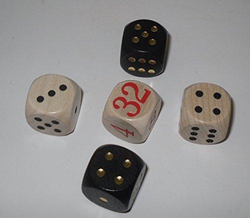 Backgammon Spielwürfel (16 mm)