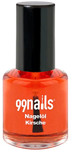 99 Nails nagelöl – Cerise, 1er Pack (1 x 15 ml)