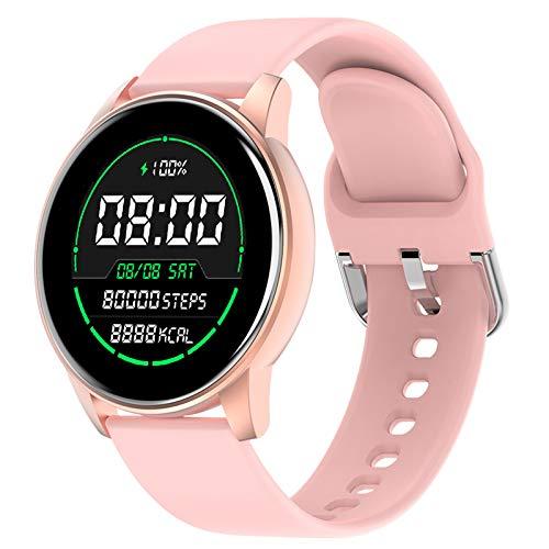"""LIGE Smart Watch, Fitness-Tracker mit Blutdruck/Herzfrequenz/Pulsoximeter/Blutsauerstoff Monitor,1,3\"""" Touchscreen Fitness Armband,wasserdichte IP67 Fitness Uhr für Damen für iPhone Android"""