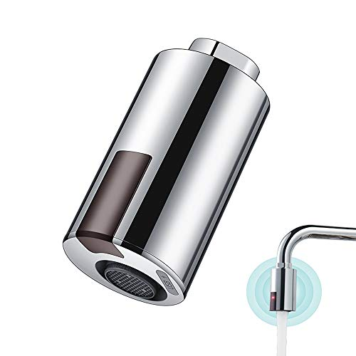 Adaptador inteligente de llave sin contacto para fregadero de cocina y baño, grifo inteligente automático, adaptador de grifo con sensor
