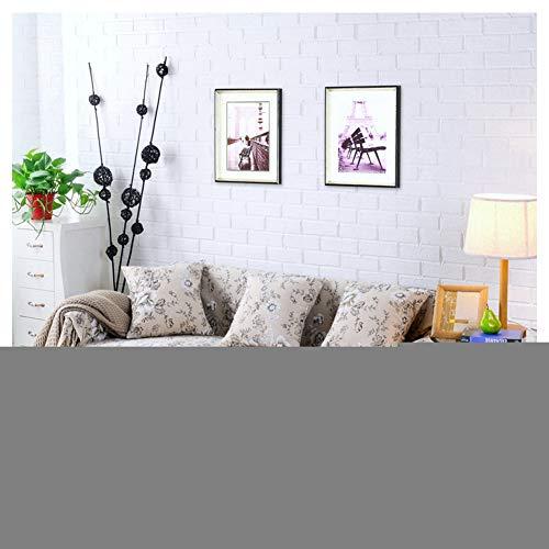 GELing Funda para sofá de Cuatro Estaciones, Antideslizante, Tela elástica, Lavable, elástica, para sofá de Dos plazas, Todo Incluido, (1/2/3/4 plazas),,6,Tres Plazas