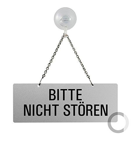 OFFORM HängeschiId I KettenschiId Bitte Nicht stören I einseitig I mit Saugnapfhaken I 175x65 mm I Nr.31044-ES