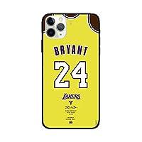 For IPhone X/XS、XR、XS Max用のBryantブライアントケース電話ケース、TPU素材ファッションバスケットボールスターカバーケース、フォーコーナーソフトシリコン転倒防止保護カバー T- XR